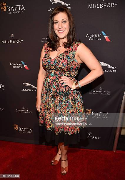 Actress Allison Tolman attends the BAFTA Los Angeles Tea Party at The Four Seasons Hotel Los Angeles At Beverly Hills on January 10, 2015 in Beverly...
