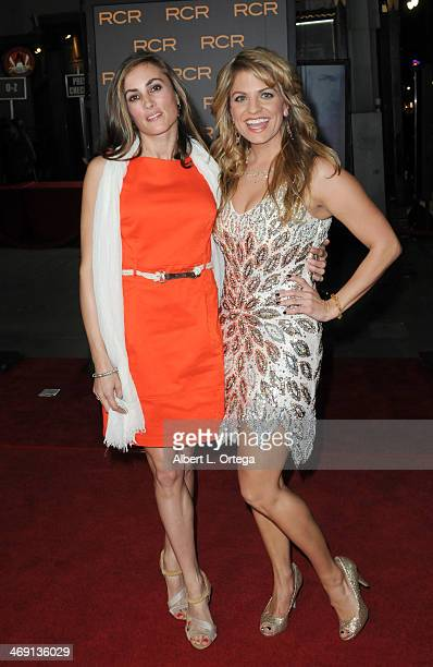 Actress Allison Tripp and actress Bridgetta Tomarchio arrive for the Premiere Of Phantom held at The TCL Chinese Theater on February 27 2013 in...