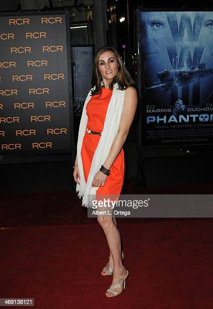 Actress Allison Tripp arrives for the Premiere Of Phantom held at The TCL Chinese Theater on February 27 2013 in Hollywood California