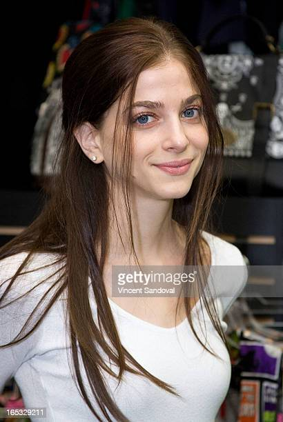 Actress Allison Weissman attends the 'John Dies At The End' DVD/BluRay release party at Dark Delicacies Bookstore on April 2 2013 in Burbank...