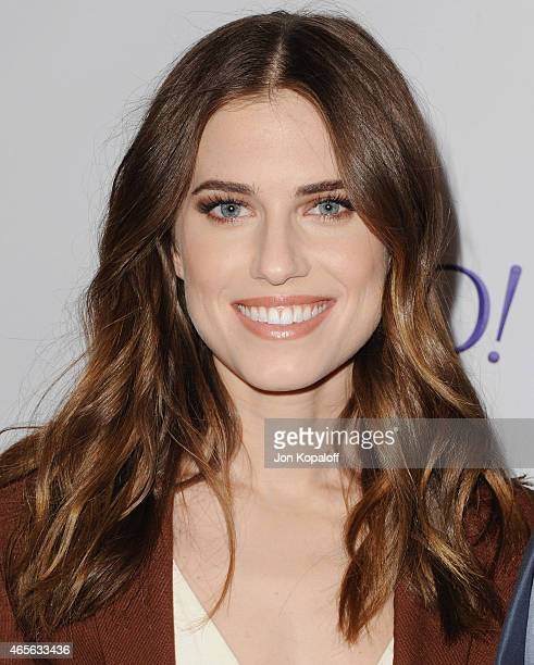 "Actress Allison Williams arrives at The Paley Center For Media's 32nd Annual PALEYFEST LA - ""Girls"" at Dolby Theatre on March 8, 2015 in Hollywood,..."