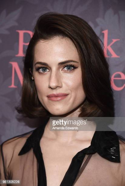 Actress Allison Williams arrives at the premiere of Showtime's 'Patrick Melrose' at the Linwood Dunn Theater on April 25 2018 in Los Angeles...