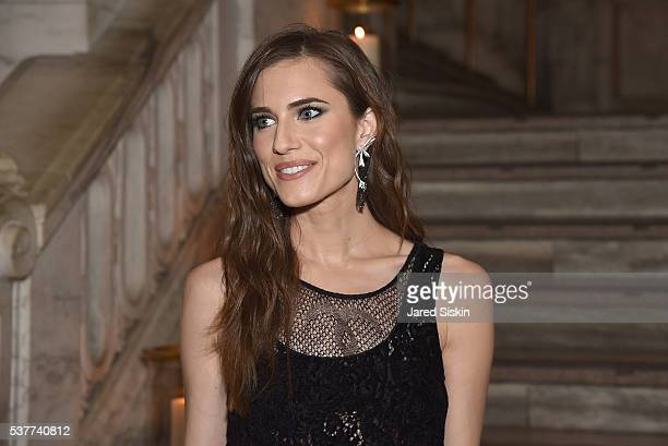 Actress Allison Williams attends as CHANEL Fine Jewelry Celebrates The New York Public Library Treasures Collection at The New York Public Library on...