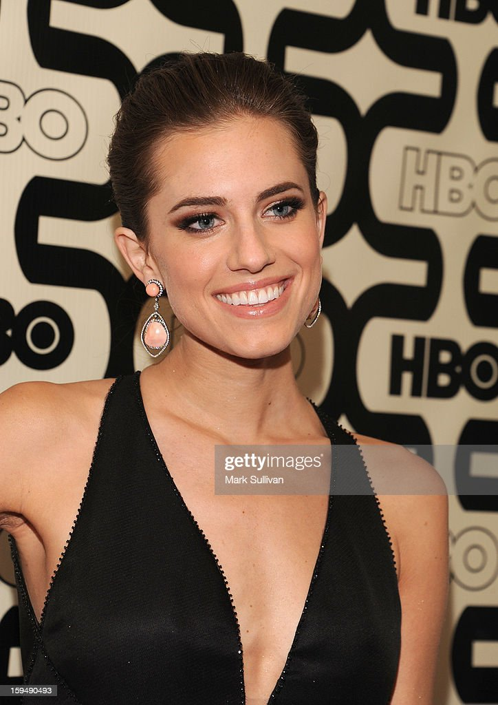 Actress Allison Williams attends HBO's 70th Annual Golden Globes after party at Circa 55 Restaurant on January 13, 2013 in Los Angeles, California.