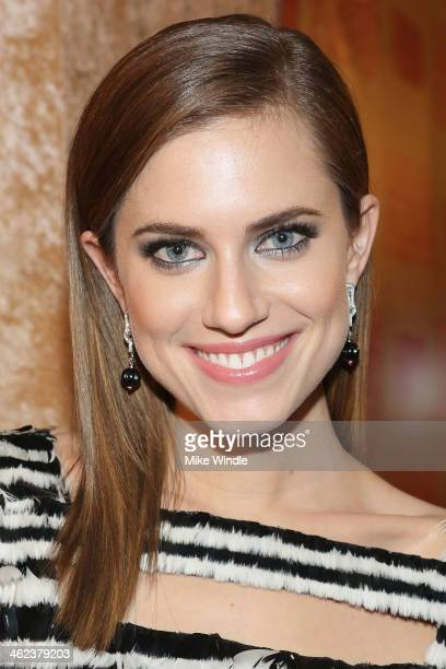Actress Allison Williams attends HBO's Post 2014 Golden Globe Awards Party held at Circa 55 Restaurant on January 12 2014 in Los Angeles California