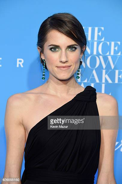 Actress Allison Williams attends the 12th annual UNICEF Snowflake Ball at Cipriani Wall Street on November 29 2016 in New York City