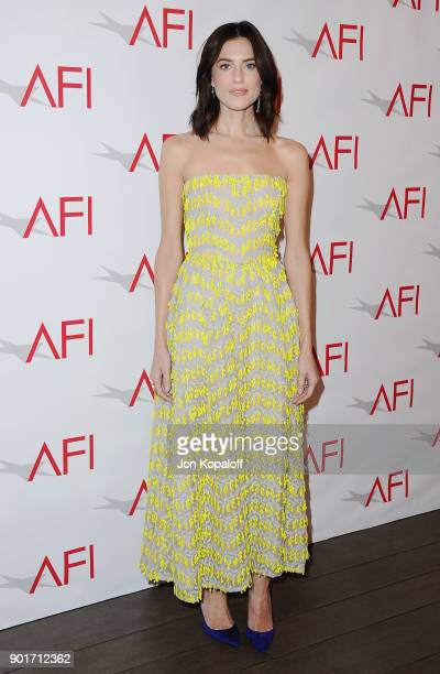 Actress Allison Williams attends the 18th Annual AFI Awards at the Four Seasons Hotel on January 5 2018 in Los Angeles California