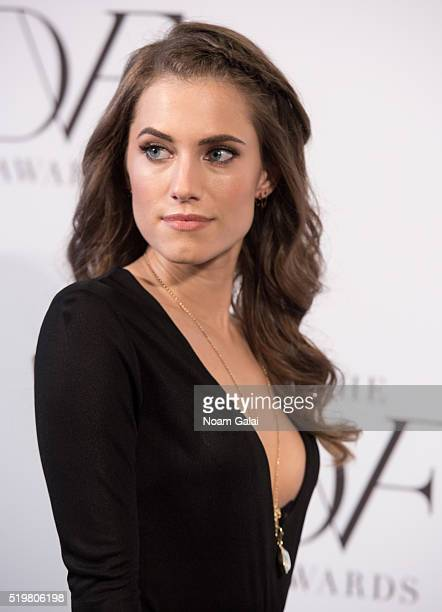 Actress Allison Williams attends the 2016 DVF Awards at United Nations on April 7 2016 in New York City