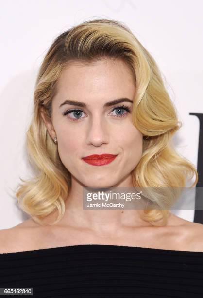 Actress Allison Williams attends the 2017 DVF Awards at United Nations Headquarters on April 6 2017 in New York City