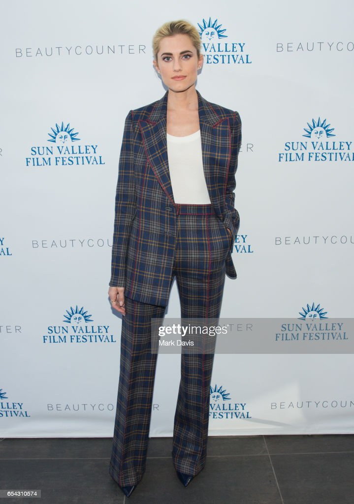2017 Sun Valley Film Festival - Rising Star Reception to Allison Williams
