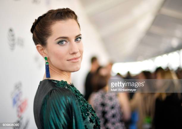 Actress Allison Williams attends the 2018 Film Independent Spirit Awards on March 3, 2018 in Santa Monica, California.