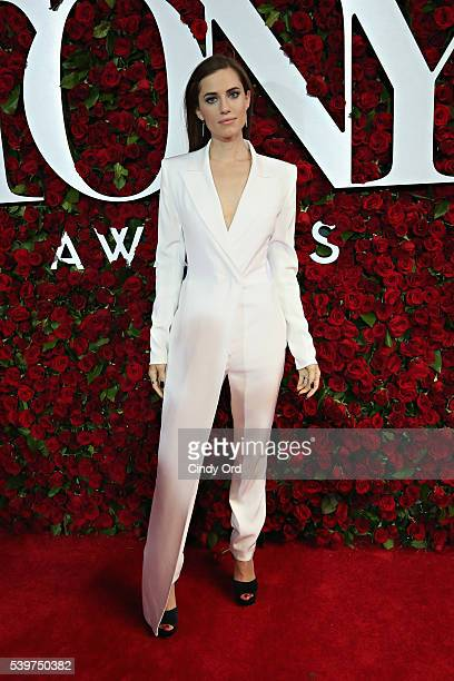Actress Allison Williams attends the 70th Annual Tony Awards at The Beacon Theatre on June 12 2016 in New York City