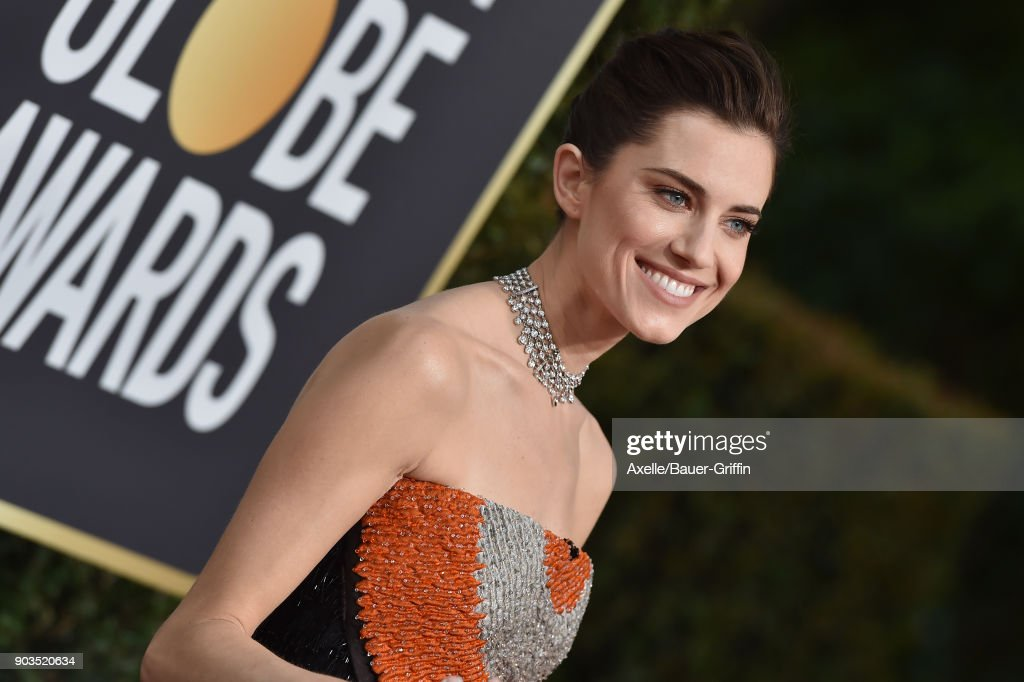 Actress Allison Williams attends the 75th Annual Golden Globe Awards at The Beverly Hilton Hotel on January 7, 2018 in Beverly Hills, California.