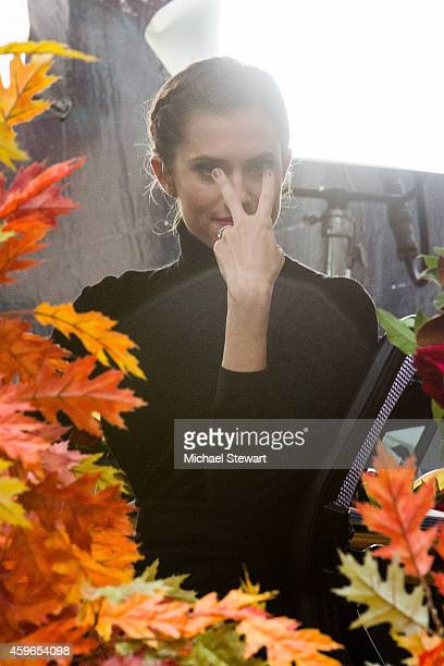 Actress Allison WIlliams attends the 88th Annual Macy's Thanksgiving Day Parade on November 27 2014 in New York City