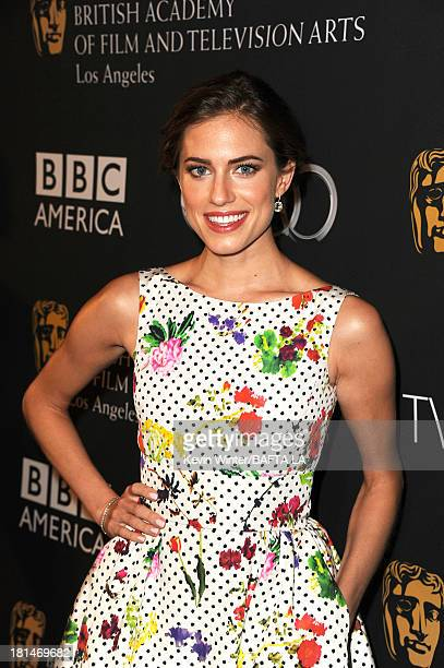Actress Allison Williams attends the BAFTA LA TV Tea 2013 presented by BBC America and Audi held at the SLS Hotel on September 21 2013 in Beverly...
