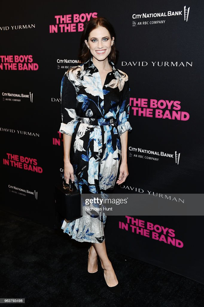 Actress Allison Williams attends the 'Boys In The Band' 50th Anniversary Celebration at Booth Theatre on May 30, 2018 in New York City.