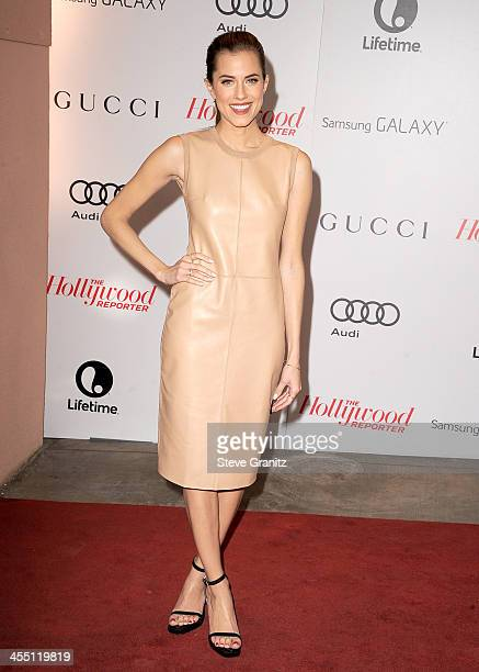 Actress Allison Williams attends The Hollywood Reporter's 22nd annual Women In Entertainment Breakfast Honoring Oprah Winfrey at Beverly Hills Hotel...