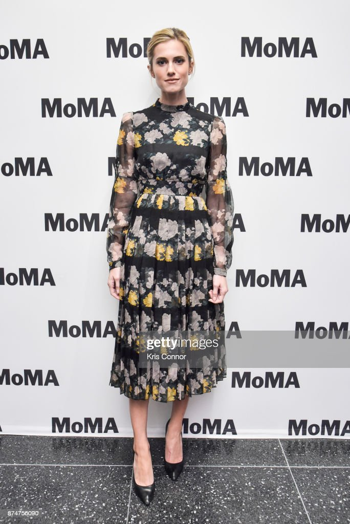 Actress Allison Williams attends the MoMA's Contenders Screening of 'Get Out' at MOMA on November 15, 2017 in New York City.