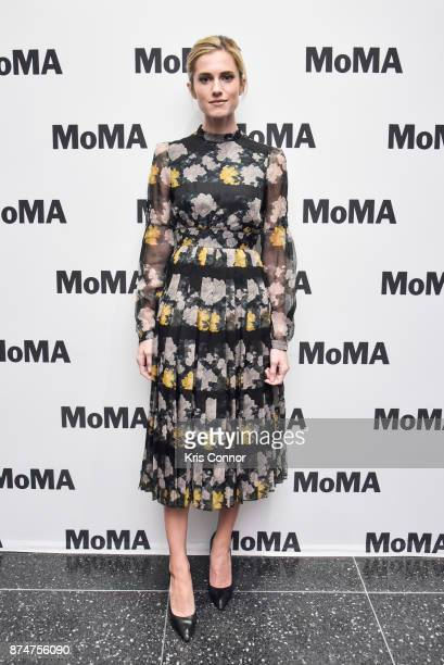 Actress Allison Williams attends the MoMA's Contenders Screening of 'Get Out' at MOMA on November 15 2017 in New York City