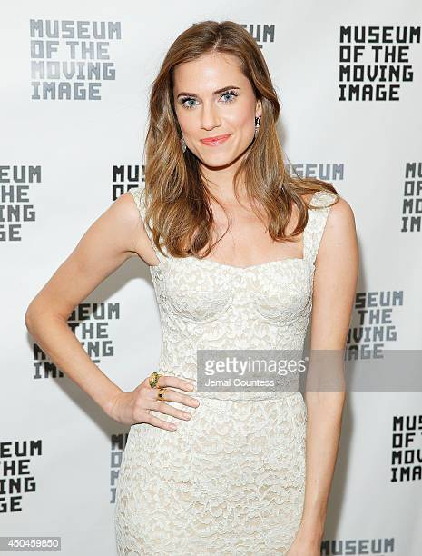 Actress Allison Williams attends the Museum Of The Moving Image Honors Richard Plepler Charlie Rose at Saint Regis Hotel on June 11 2014 in New York...