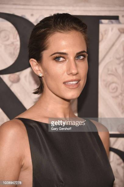 Actress Allison Williams attends the Ralph Lauren 50th Anniversary event during New York Fashion Week at Bethesda Terrace on September 7 2018 in New...