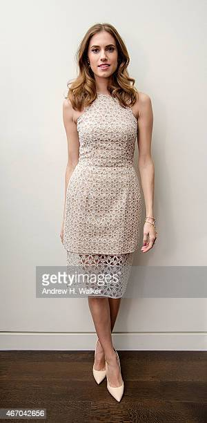 Actress Allison Williams attends the SAMA eyewear launch of deCODE:Los Angeles at Baccarat New York on March 19, 2015 in New York City.