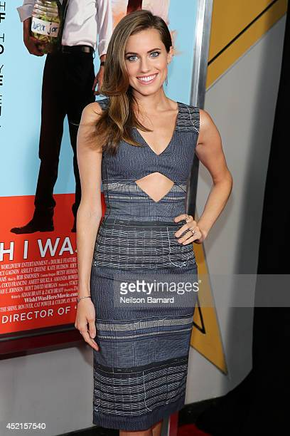 Actress Allison Williams attends the Wish I Was Here screening at AMC Lincoln Square Theater on July 14 2014 in New York City