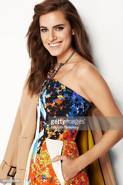 Actress Allison Williams is photographed for Glamour Spain on February 21 2013 in New York City PUBLISHED IMAGE