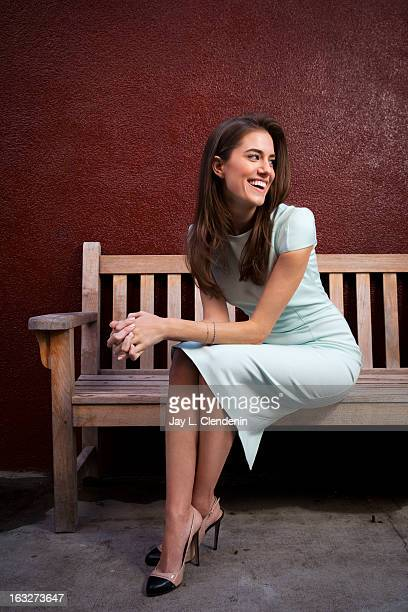 Actress Allison Williams is photographed for Los Angeles Times on March 4, 2013 in Los Angeles, California. PUBLISHED IMAGE. CREDIT MUST READ: Jay L....