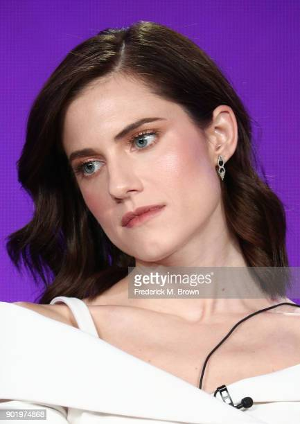 Actress Allison Williams of the television show Patrick Melrose speaks onstage during the CBS/Showtime portion of the 2018 Winter Television Critics...