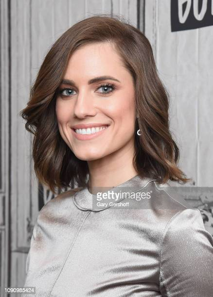 Actress Allison Williams visits Build Series to discuss the Netflix series 'A Series of Unfortunate Events' at Build Studio on January 07, 2019 in...