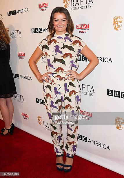 Actress Allison Wright attends the BBC America BAFTA Los Angeles TV Tea Party 2016 at The London Hotel on September 17 2016 in West Hollywood...