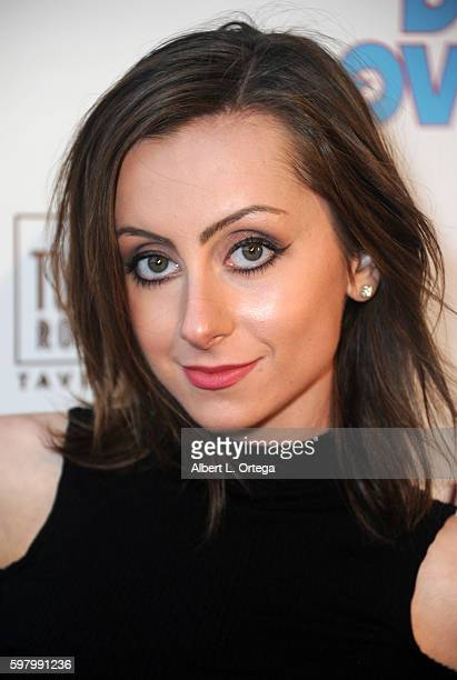 Actress Allisyn Ashley Arm arrives for the Premiere Of 'Do Over' held at iPic Theaters on August 29 2016 in Los Angeles California