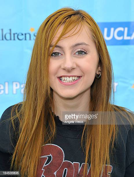 Actress Allisyn Ashley Arm arrives to the 'Mattel Party on the Pier' benefiting Mattel Children's Hospital UCLA at Pacific Park on the Santa Monica...
