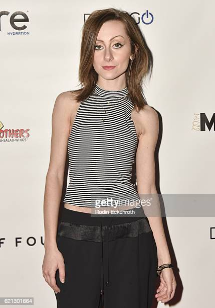 Actress Allisyn Ashley Arm attends The Clubhouse Red Carpet Event at Project LA on November 5 2016 in Los Angeles California