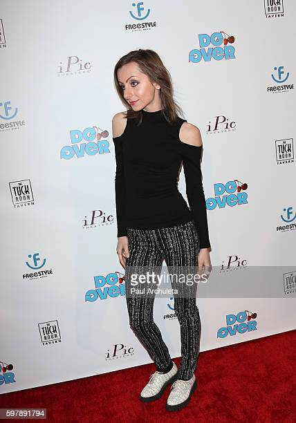 Actress Allisyn Ashley Arm attends the premiere of 'Do Over' at the iPic Theaters on August 29 2016 in Los Angeles California