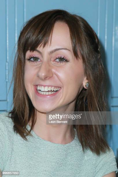 Actress Allisyn Ashley Arm attends the Screening Of A24's 'Eighth Grade' Arrivals at Le Conte Middle School on July 11 2018 in Los Angeles California