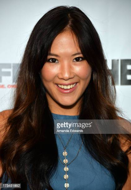 Actress Ally Maki arrives at the 31st Annual Outfest Los Angeles LGBT Film Festival screening of Geography Club at Directors Guild Of America on July...