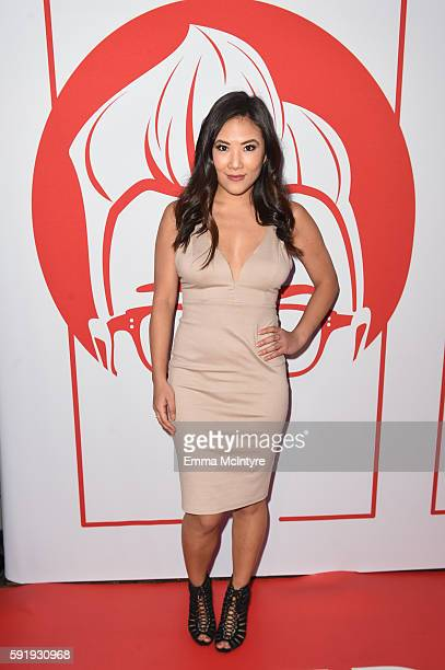 Actress Ally Maki at The Library at The Redbury on August 18 2016 in Hollywood California