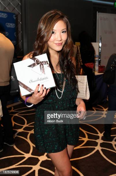 Actress Ally Maki attends Kari Feinstein MTV Movie Awards Style Lounge at W Hollywood on June 2 2011 in Hollywood California