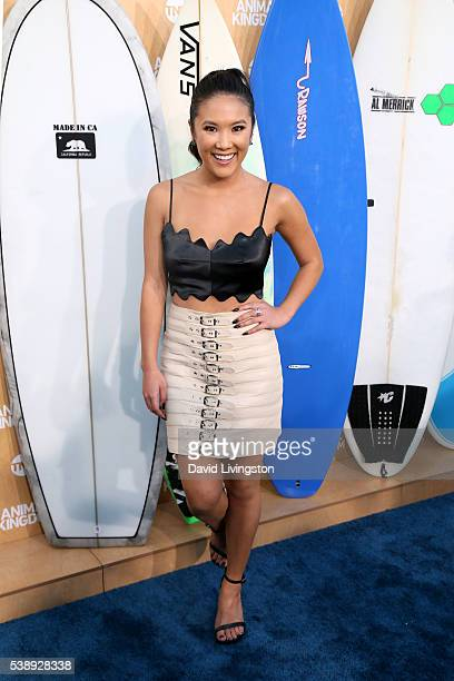 Actress Ally Maki attends the premiere of TNT's Animal Kingdom at The Rose Room on June 8 2016 in Venice California