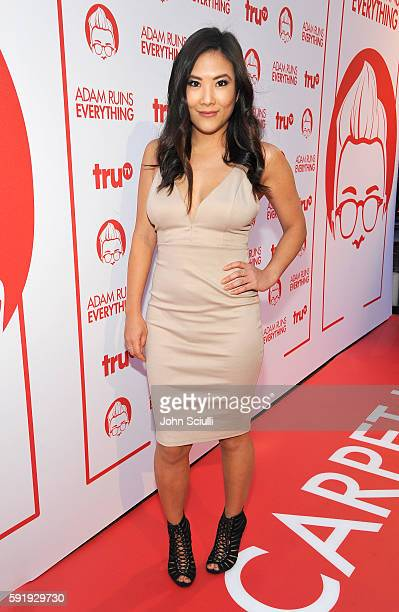 "Actress Ally Maki attends truTV's ""Adam Ruins Everything"" Premiere Screening Event on August 18 at The Redbury Hotel on August 18 2016 in Hollywood..."