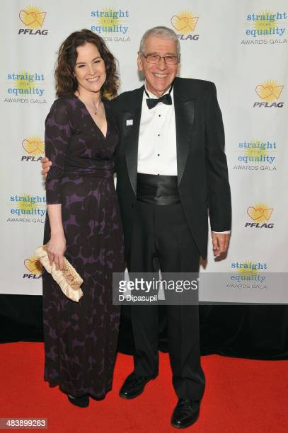 Actress Ally Sheedy and PFLAG National President Rabbi David M Horowitz attend the PFLAG National Straight For Equality Awards at Marriott Marquis...