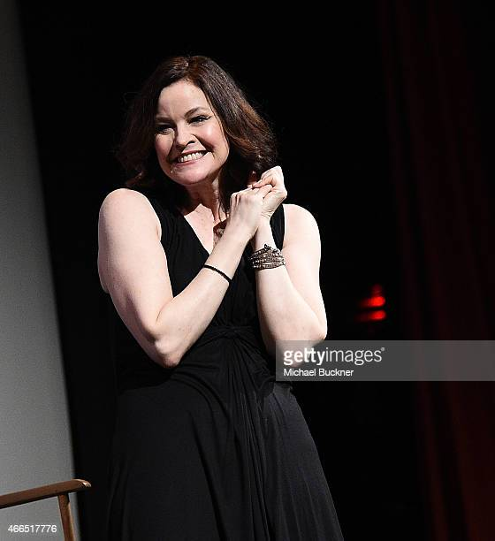 Actress Ally Sheedy attends The Breakfast Club 30th Anniversary Restoration world premiere during the 2015 SXSW Music Film Interactive Festival at...