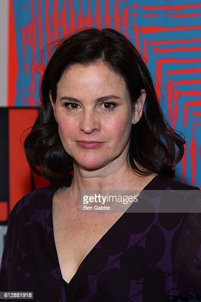 Actress Ally Sheedy attends the New York Film Critics Series 'Little Sisters' QA at The Core Club on October 5 2016 in New York City