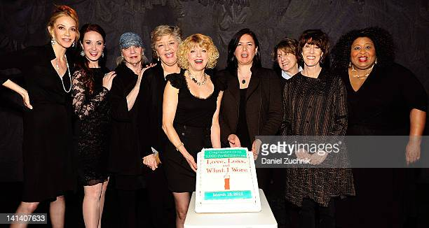 Actress Ally Walker actress Sierra Boggess author Ilene Beckerman actress Joyce Van Patten actress Karyn Quackenbush director Karen Carpenter writer...