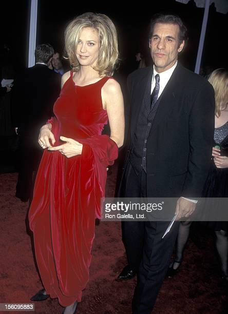 Actress Ally Walker and Actor Robert Davi attend the 23rd Annual People's Choice Awards on January 12 1997 at The Barker Hangar at The Santa Monica...