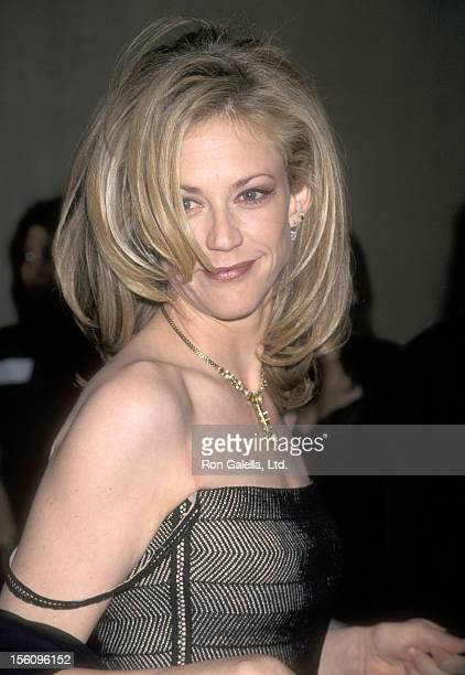 Actress Ally Walker attends the 12th Annual Genesis Awards on March 28 1998 at Beverly Hilton Hotel in Beverly Hills California
