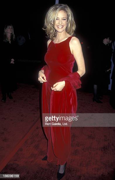 Actress Ally Walker attends the 23rd Annual People's Choice Awards on January 12 1997 at The Barker Hangar at The Santa Monica Air Center in Santa...