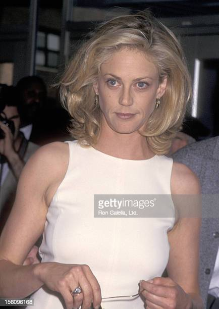 Actress Ally Walker attends the 'Kazaam' New York City Premiere on June 26 1996 at Cineplex Odeon Cinemas in New York City New York